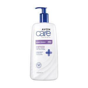 Avon Care Derma Even-Tone + Lotion pour le Corps Éclaircissante 750ml 1406549