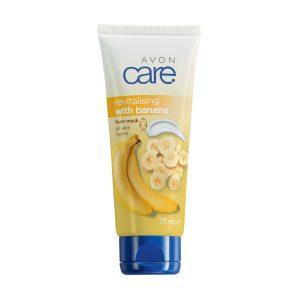 Avon Care Masque pour le Visage Revitalisant à la Banane 1292606 75ml