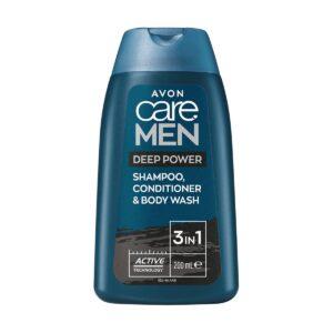 Avon Care Men Deep Power Shampooing
