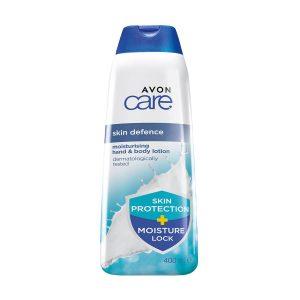 Avon Care Lotion Hydratante Corps et Mains 400ml Skin Defence Moisturising 1392005