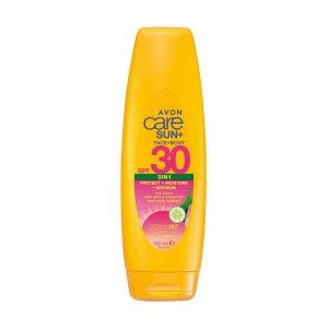 Avon Care Sun+ 3 en 1 Visage + Corps Lotion Solaire SPF30 1403476 150ml
