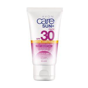 Avon Care Sun+ Shine Control Crème Solaire Hydratante pour le visage SPF30 1304667 50ml