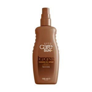 Avon Care Sun+ huile bronzante en vaporisateur 32393 150ml