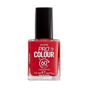Avon Pro Colour Vernis à Ongles Séchage en 60 Secondes Designer Red 1406866 10ml