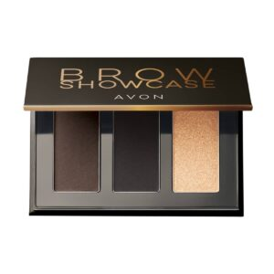 Avon True Brow Showcase Palette 3 en 1 pour Sourcils Dark 1357967 4.6gr