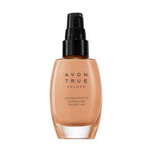 Avon True Calming Effects Fond de teint apaisant Soin éclat Almond 66756 30ml