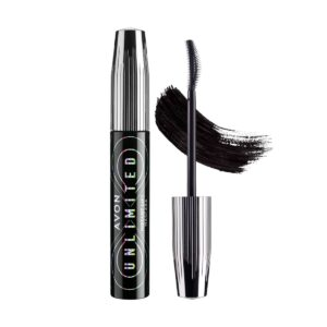 Avon Unlimited Mascara Effet Lifté Instantané Blackest Black 1344319 10ml