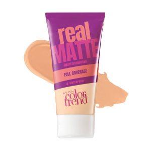 Color Trend Fond de Teint Liquide Mat Real Ivory 1318503 30ml